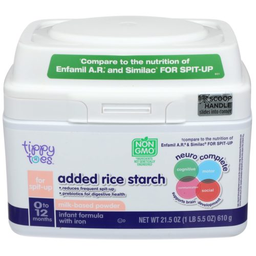 Added Rich Starch Milk-Based Powder Infant Formula with Iron 21.5oz