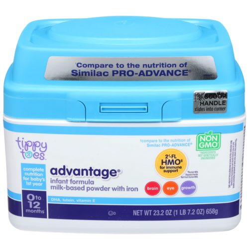 Advantage Infant Formula Milk-Based Powder with Iron 23.2oz