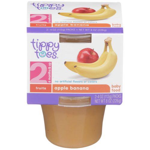 Apple Banana Baby Food Cup