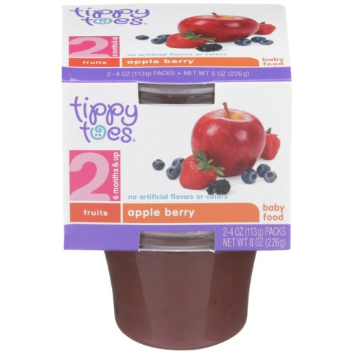 Apple Berry Baby Food Cup