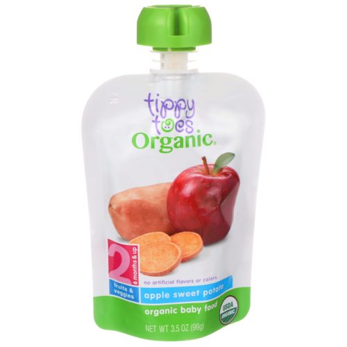Apple Sweet Potato Baby Food Pouch