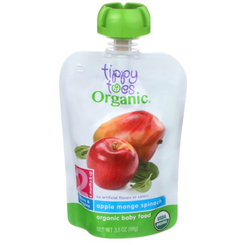 Apply Mango Spinach Baby Food Pouch