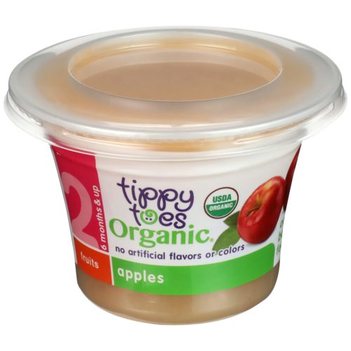 Organic Apples Baby Food Cup
