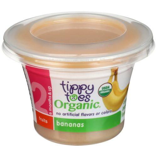 Organic Bananas Baby Food Cup