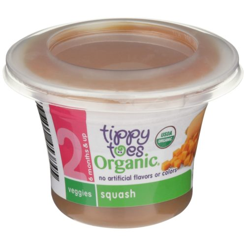 Organic Squash Veggies Baby Food Cup