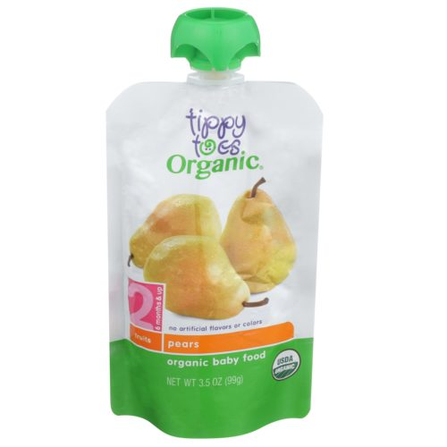 Pear Baby Food Pouch