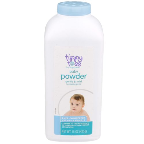 Pure Cornstarch Baby Powder with Aloe & Vitamin E