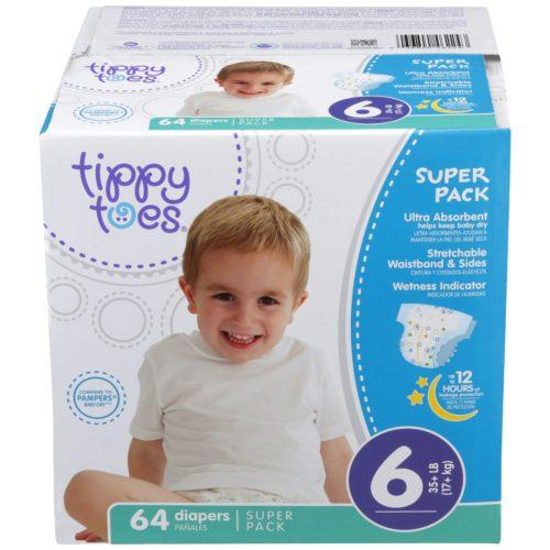 Ultrafit Diapers Super Pack Size 6