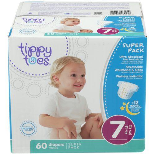 Ultrafit Diapers Super Pack Size 7